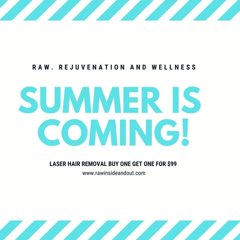 Summer is coming Raw Rejuvenation And Wellness